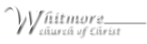Whitmore church of Christ logo