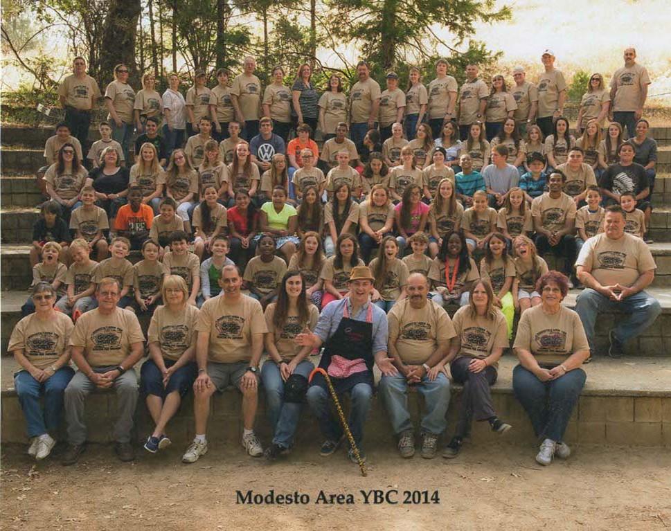 Modesto Area YBC Camp Picture for 2014